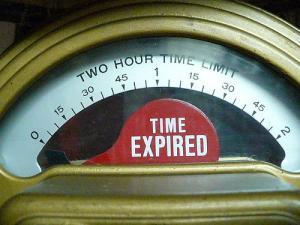 Tiden er udløbet