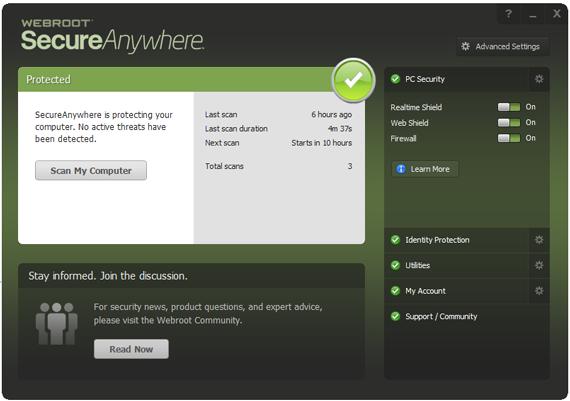 webroot client
