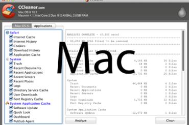CCleaner til Mac